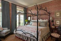 ¡Qué romántico dosel cama eclecticallyvintage.com