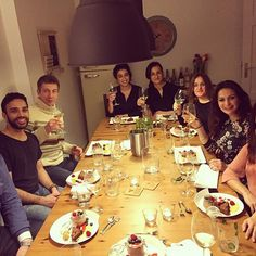 Great people with great food = priceless! #socialdinner #chefone  #hamburg