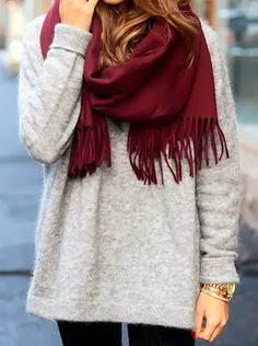 Love the soft textures! Looks so cozy.