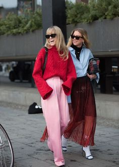 The Best Street Style from Stockholm Fashion Week Fall 2018 Street Style Trends, Best Street Style, Street Style Women, Stockholm Fashion Week, Stockholm Street Style, Paris Street, Streetwear, Stylish Outfits, Fashion Outfits