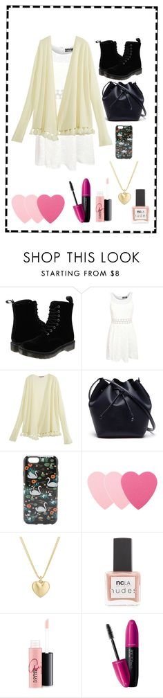 """""""spring is here"""" by montaniwangsa on Polyvore featuring Dr. Martens, Pilot, Calypso St. Barth, Lacoste, Rifle Paper Co, Sephora Collection, Finn, ncLA, MAC Cosmetics and Revlon"""