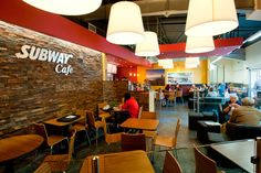 On the Isle of Man, Subway installed the first Subway Cafe's within their supermarkets. We provided cafe furniture for 2 sites and hopefully even more.