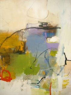 "New: Charlotte Foust ""Play Ground II"" Acrylic on Canvas, 30x24"