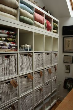 lovely organised sewing room, love it!