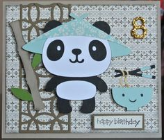 Create a critter cricut card