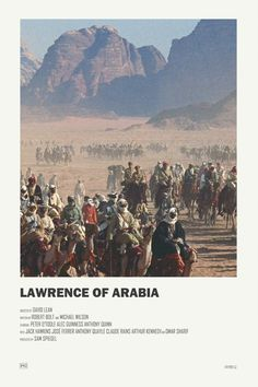 Lawrence of Arabia alternative movie poster Print available HERE