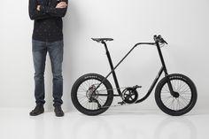 BIG20 is designer Joey Ruiter's latest stripped down urban commuter for Inner City Bikes //
