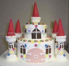 Image result for DIY Castle Cake
