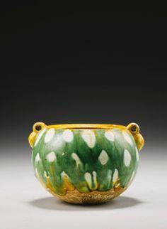 A Sancai-Glazed Pottery Jar Tang Dynasty - Sotheby's