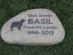 Golden Retriever Pet Memorials Stone Garden Memorial Stone 9-10