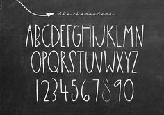 """Ad: Chalkful - A Handmade Chalk Font by KA Designs on Chalkful is a cute handwritten font. It has been handmade to look like """"chalkboard writing"""" This font is perfect for quotes, Chalk Writing, Chalkboard Writing, Chalkboard Markers, Chalkboard Designs, Chalkboard Ideas, Chalkboard Fonts Free, Summer Chalkboard, Coffee Chalkboard, Chalkboard Doodles"""