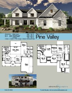 54 best 1 1/2 Story House Plans images on Pinterest | Floor plans ...