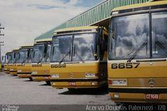 Ônibus da empresa Viação Itapemirim, carro 6659, carroceria Mercedes-Benz…