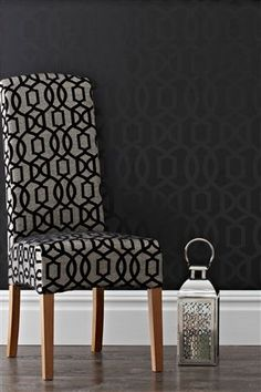 Buy Eloise Black Wallpaper from the Next UK online shop