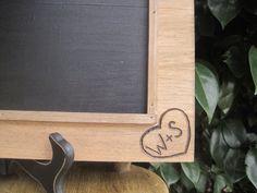 Rustic Wedding 2 Chalkboard Sign Decoration by dlightfuldesigns, $35.00