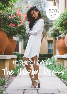 Get 50% off The Illusion Dress
