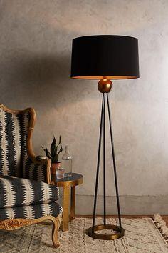 Triangulate Floor Lamp Ensemble - ELLEDecor.com