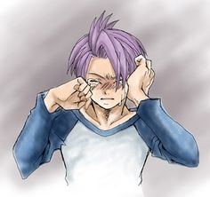 Trunks awww I just want to give him a big hug