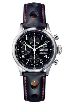 Davosa Men's Rallye Pilot Chronograph Watch 16100756