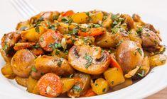 Uite cat de usor e sa Baby Food Recipes, Cooking Recipes, Healthy Recipes, Healthy Meals, Mushroom Recipes, Vegetable Recipes, Good Food, Yummy Food, Romanian Food