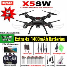 SYMA X5SW / X5SW-1 WIFI RC Drone Quadcopter with FPV Camera Headless 6-Axis Real Time RC Helicopter Quad copter Toys     FREE Shipping Worldwide     Get it here ---> https://hightechboytoys.com/syma-x5sw-x5sw-1-wifi-rc-drone-quadcopter-with-fpv-camera-headless-6-axis-real-time-rc-helicopter-quad-copter-toys/