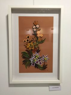 Quilling Flowers - from exhibition