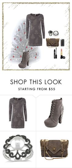 """Waiting For Christmas"" by oksana-kolesnyk ❤ liked on Polyvore featuring White Stuff, Charlotte Russe, Miadora, Stephen Webster, Trussardi and Valentino"