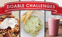 Doable Challenge #4: Give Your Snacks a Makeover Ditch the junk food for easy, healthy snack recipes and tips from the chef and nutritionist at Miraval Resort & Spa