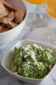 Spicy Cheesy Guacamole - What's Gaby Cooking