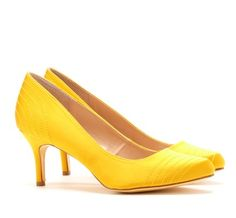 My wedding shoes! Nina Forbes | Canary Luster Satin Shoes | My ...