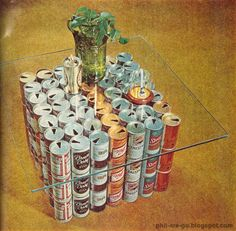 vintage beer cans craft - Google Search