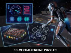 New Adventure Escape 7 game from Haiku Games. Is a Sci-Fi puzzle adventure. Available as a free full game for iPad, iPhone, Android & Kindle.