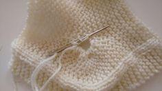 Receita da Botinha Para Bebês EmTricô Revista Mon Tricot Receita da Botinha Material Agulha 4. Lã compatível Colocar 27 pont...