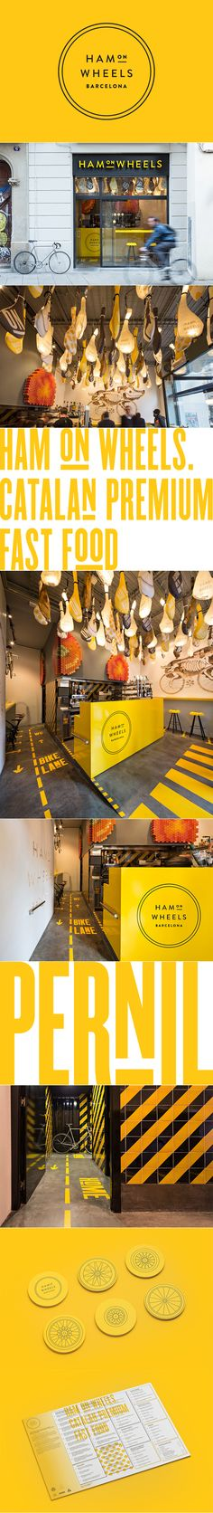 Ham on Wheels brand by Forma & Co