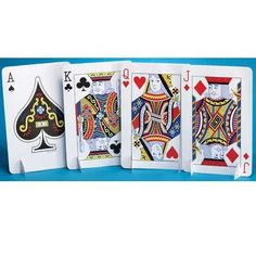 Card Night Playing Cards Centerpiece
