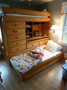 1000 Images About Loft Bed With Dresser Desk On Pinterest