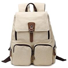 Hotoop Unisex Leisure Canvas Backpacks (Beige) Hotoop http://www.amazon.com/dp/B012NBHOCK/ref=cm_sw_r_pi_dp_oH4.vb102CDF5