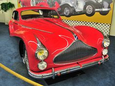 1951 TALBOT-LAGO T26 GRAND SPORT COUPE - by Carroserie Saoutchik of Paris.