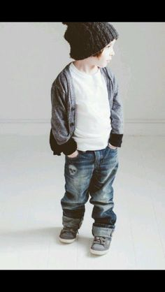 Stoere outfit