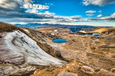 Montana:  Breathtaking Bear's Tooth Pass, National Geographic's world's top 10 scenic mountain drives