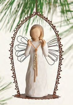 Willow Tree Angel Christmas Tree Ornament 2011 By Demdaco -- For more information, visit image link.