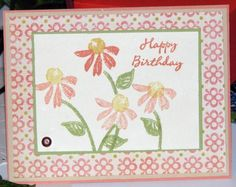 Watercolor Garden Birthday
