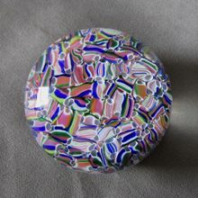 Vintage French Baccarat Macedoine Millefiori Paperweight