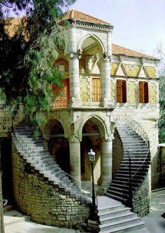 Beautiful Lebanese old house.