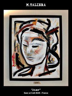 DUNE  Abstract portraits  Original painting  M.TALIERA  #abstractportrait #portraitpainting #originalart #dune #mtaliera #meditation