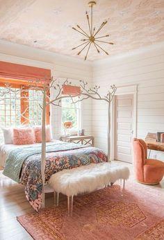 Pink Bedroom For S Dream Bohemian Boho Idea