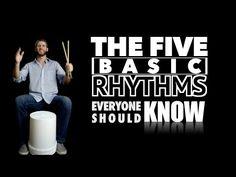 5 Basic Rhythms EVERYONE Should Know - YouTube