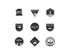 Logo & Identity by Matt Stevens, via Behance