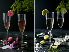 Champagner & Macarons   Foodlovin'