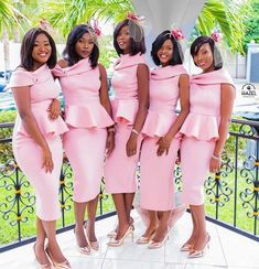 Take a look at the latest bridal train styles in Africa- NIGERIAN 2020 WEDDING STYLES to get inspired and find out how to look gorgeous and chick. Wedding Attire, Wedding Gowns, African Bridesmaid Dresses, Yellow Bridesmaids, Wedding Bridesmaids, Shweshwe Dresses, Black Bride, Latest African Fashion Dresses, African Dress
